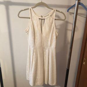 Free People Ivory  Lace Dress